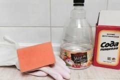 Несколько действенных методов, как прочистить засор в домашней сантехнике с помощью соды и уксуса