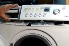 Несложная инструкция, как снять переднюю панель стиральной машины LG