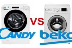 Почти одинаковые, или какая стиральная машина лучше — Канди или Веко