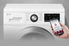 Как установить приложение и управлять смарт-диагностикой стиральной машины LG?