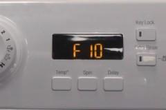 Что означает ошибка F10 стиральной машины Атлант и как ее устранить?