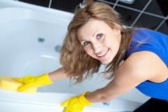 Советы опытных хозяек, как очистить ванну до бела домашними средствами