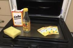Моем-моем чисто-чисто, или как провести очистку духовки содой, а также с добавлением уксуса или лимонной кислоты