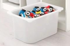 Обзор ящиков для хранения игрушек ИКЕА: достоинства и недостатки, разновидности, цены
