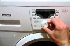 Почему не включается стиральная машина Атлант, как ее включить?