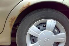 Полезные рекомендации, как убрать ржавчину с арок автомобиля своими руками