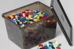 Обзор ящиков для хранения деталей конструктора Лего: виды, правила пользования, стоимость