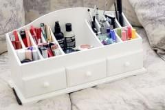 Практичное, удобное и стильное приобретение — коробка для хранения косметики