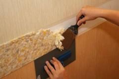 Рекомендации специалистов, как быстро и легко убрать жидкие обои со стены