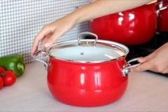 Полезные советы, как и чем можно очистить нагар с эмалированной кастрюли внутри и снаружи