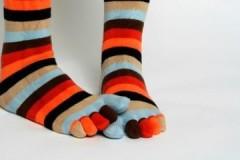 Как необходимо стирать носки при грибке?