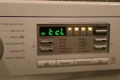 Что означает ошибка TCL стиральной машины LG, как ее устранить?