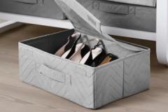 Обзор коробок для хранения обуви ИКЕА: достоинства и недостатки, разновидности, цены