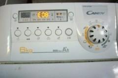Как расшифровывается ошибка Е08 стиральной машины Candy, как ее устранить?