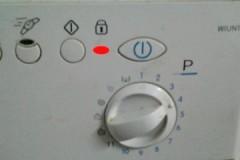 По какой причине на стиральной машине самсунг горит значок замка и как это исправить?
