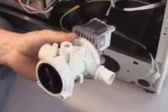 Как отремонтировать и поменять помпу для стиральной машины Bosch?