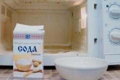 ТОП быстрых способов, как очистить микроволновку внутри от жира в домашних условиях с помощью соды