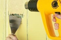 Ценные рекомендации, как убрать старую краску со стен