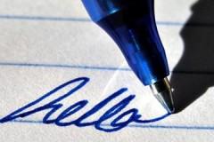 Просто и без следов, или как стереть синюю и черную гелевую ручку с бумаги